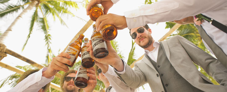 The Ultimate Bachelor Party in Paradise