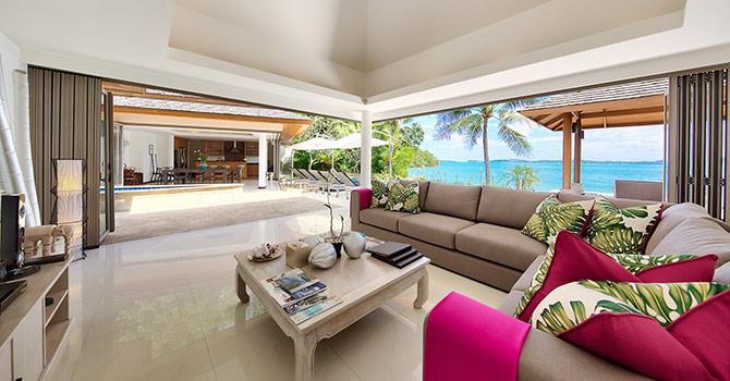 Baan Benjamart  Living Room