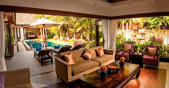 Baan Kluay Mai  Living room