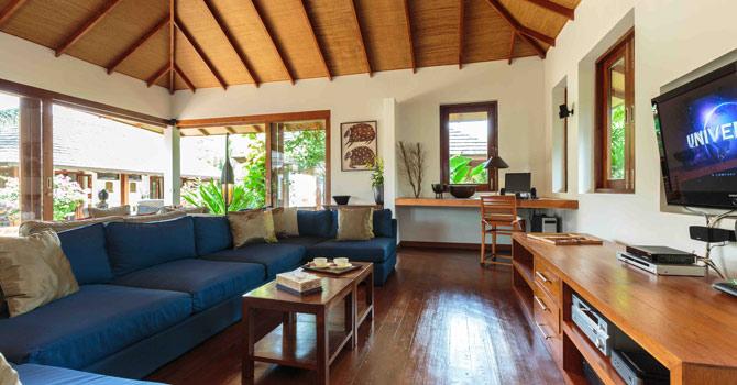 Baan Mika  Living room