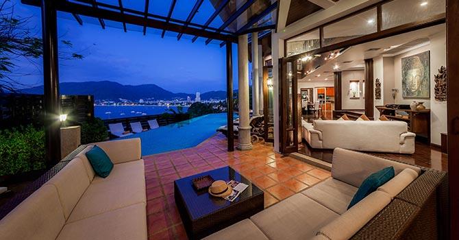 Baan Paradise  Lounge Area
