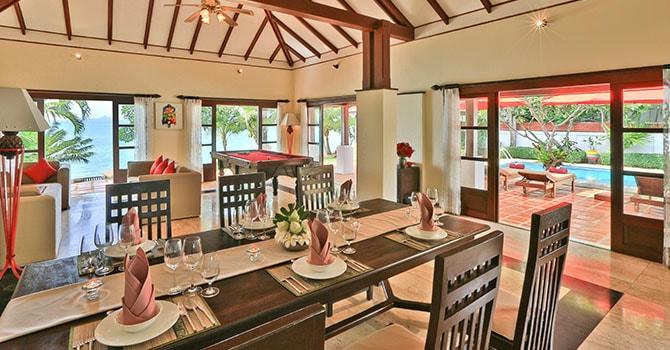 Baan Tamarind  Indoor Dining