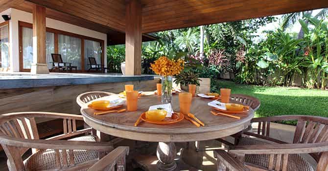 Baan Wanora  Alfresco Outdoor Dining Table