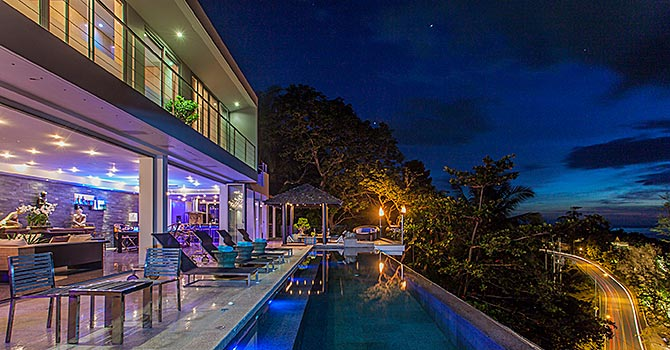 Bluesiam Villa  Night Swimming Pool