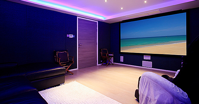 Bluesiam Villa  Cinema Room
