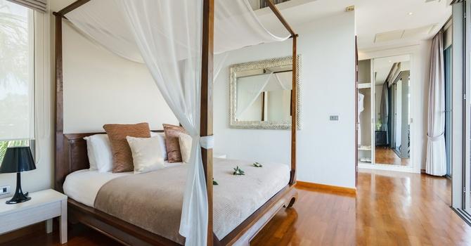 Inasia Villa  Ocean View Bedroom