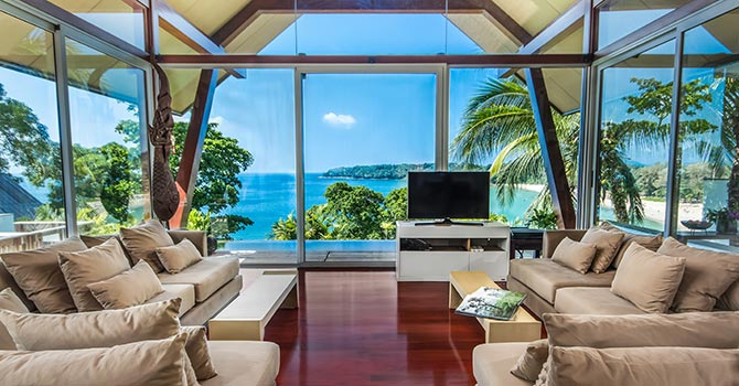 Laemsingh Villa 3  Living Room