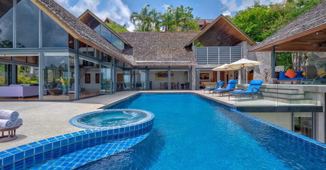 Lomchoy & Viman  Villa Viman Swimming Pool
