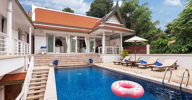 Makata Villa 2  Swimming Pool
