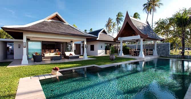 Miskawaan Beach Villa  Villa Sila Swimming Pool