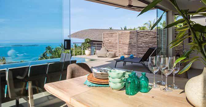 Villa Lanta  Dining Area