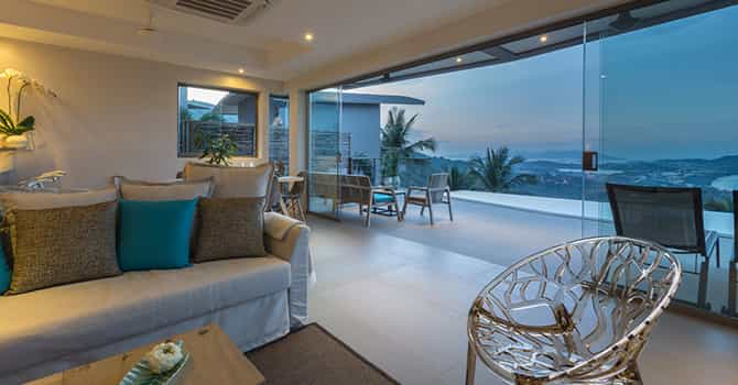 Villa Lanta  Living Room