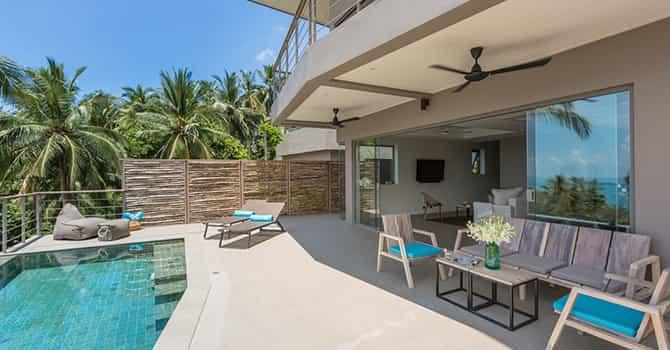 Villa Nuea  Pool Terrace