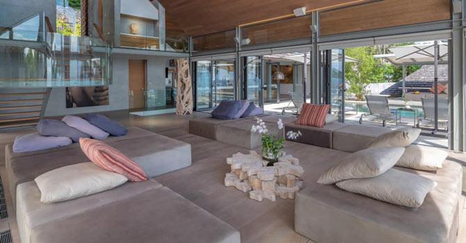 Saengootsa & Viman  Villa Saengootsa Living Room