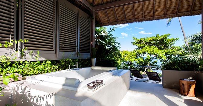 Sangsuri 2 Villa  Outdoor Bathtub