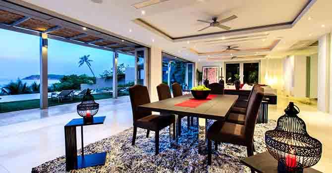 Sangsuri Villa 1  Indoor Dining Table