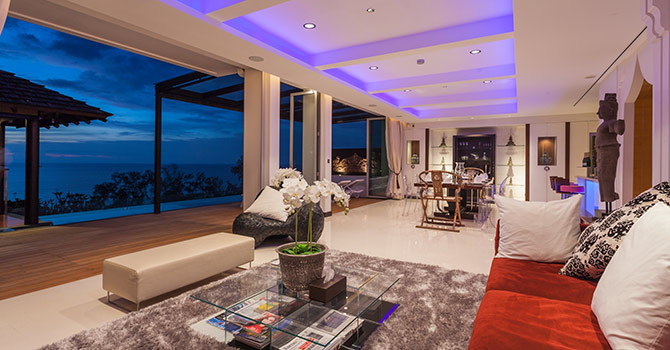 Sawan Anda Villa   Living Room