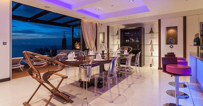Sawan Anda Villa   Dining Room