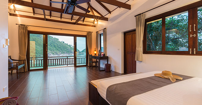 Secret Beach Villa  Bedroom 1