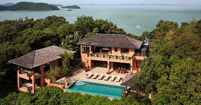 Villa Baan Chirawan  Aerial Shot