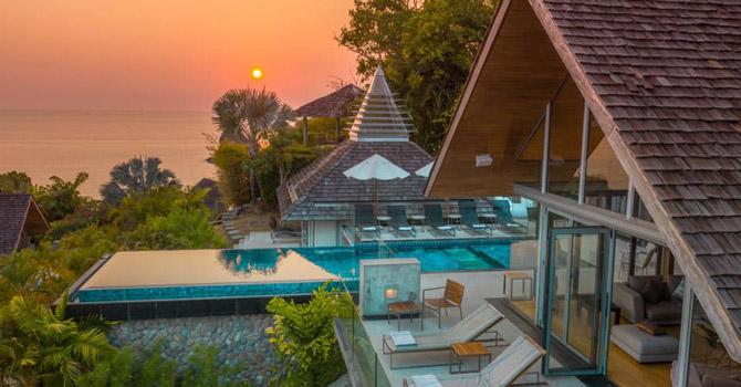 Villa Benyasiri  Sunken sea view