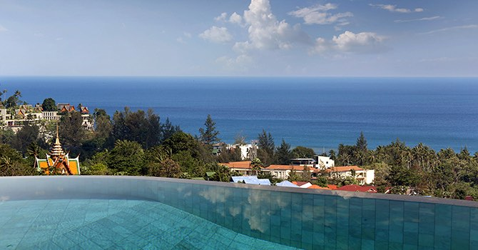 Villa Beyond Namaste  Villa Beyond Swimming Pool with seaview