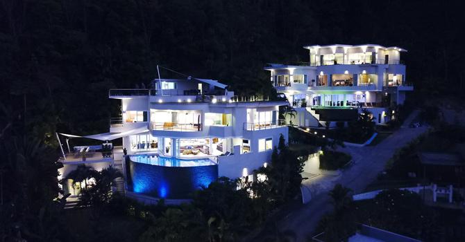 Villa Beyond Namaste  VIlla Beyond Namaste Night