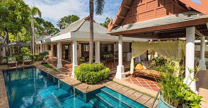 Villa Bougainvillea  Outdoor Sala