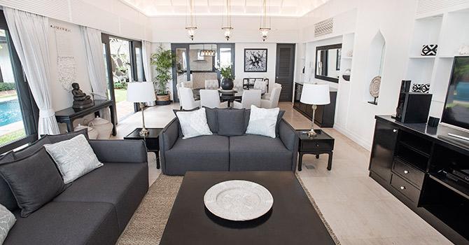 Villa Champak  Living Room
