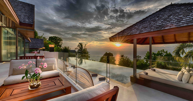 Villa Chan Grajang  Swimming Poo Sunsetl Sea View