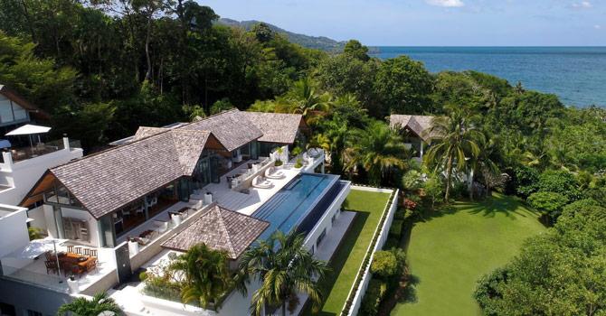 Villa Chan Grajang  Aerial Shot