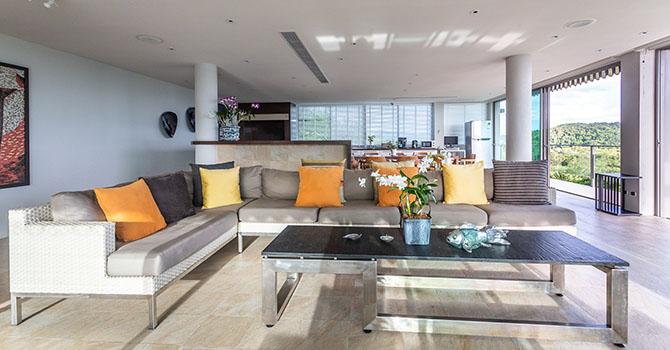 Villa Dara  Living Room
