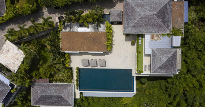 Villa Dara  Aerial Shots