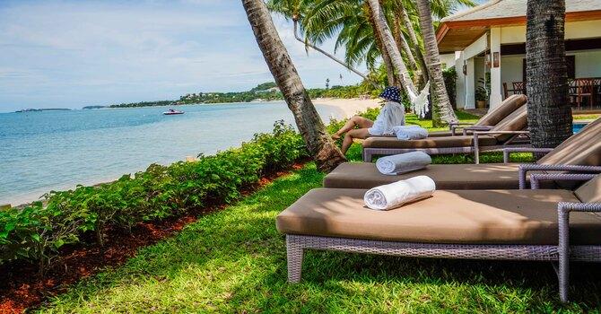 Villa Frangipani  Outdoor Living Area