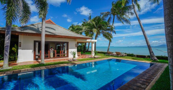 Villa Frangipani  Swimming Pool