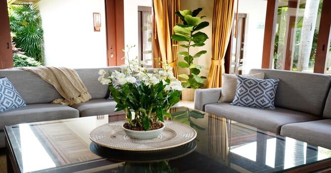 Villa Frangipani  Living Room
