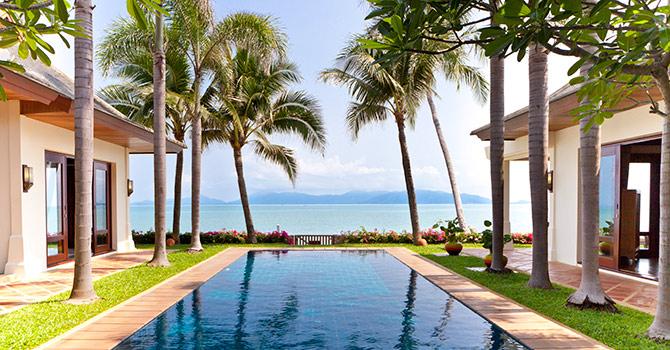 Villa Gardenia  Beach Front Villa