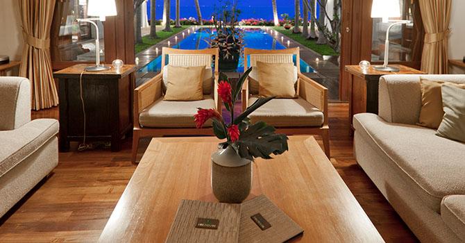 Villa Gardenia  Living Room