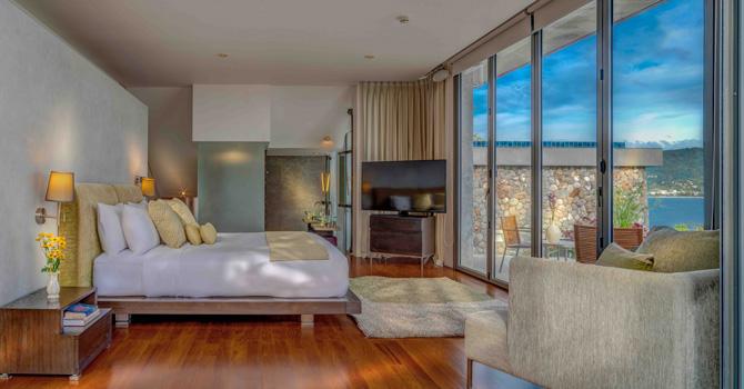 Villa Hale Malia  Master Bedroom