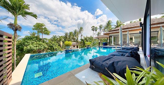 Baan Maliwan 2 3 Bedroom Villa Bophut Koh Samui