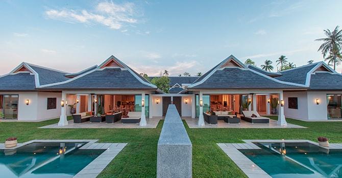 Miskawaan Beach Villa  Villa Exterior