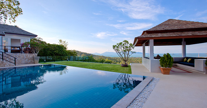 Villa Mullion Cove  Swimming Pool