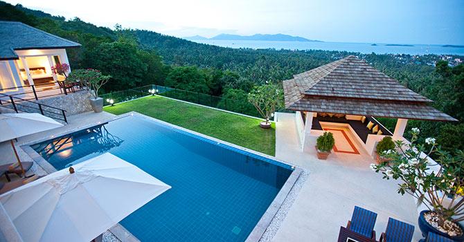 Villa Mullion Cove  View
