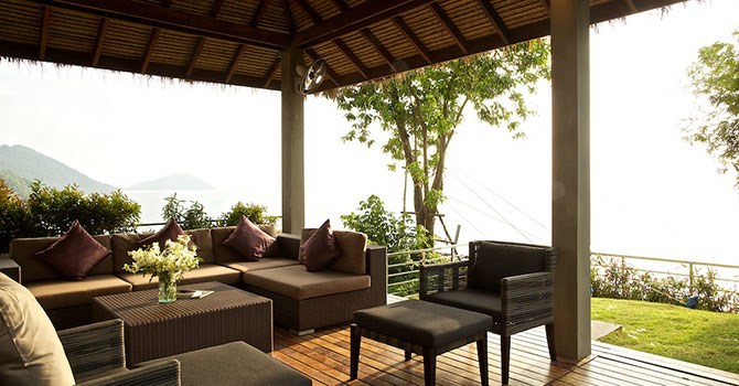 Headland Villa 5  Outdoor Sala