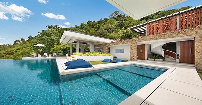 Villa Blue View  Gorgeous Swimming Pool