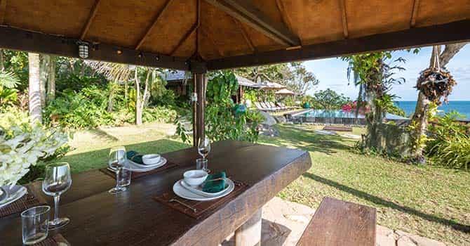 Villa Samudra  Dining