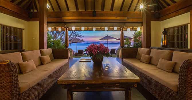 Villa Samudra  Living Room