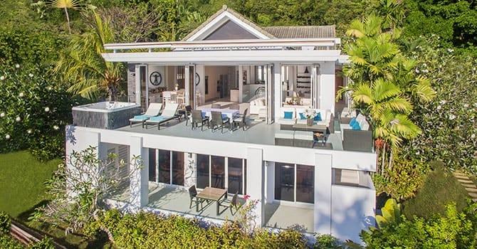 Villa Nirvana  Aerial