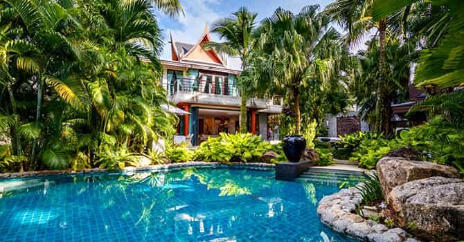 Villa in the Garden on the Rocks 9