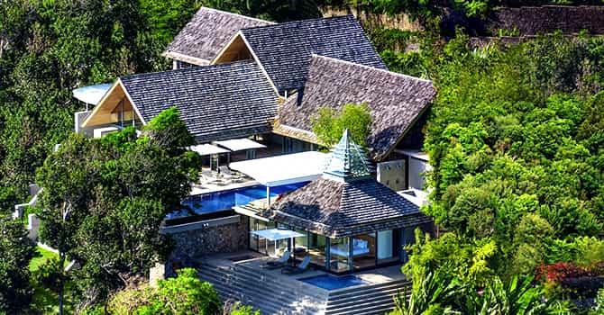 Saengootsa & Viman  Villa Saengootsa Aerial Photo